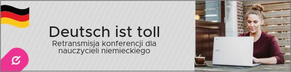 Retransmisja konferencji dla nauczycieli języka niemieckiego